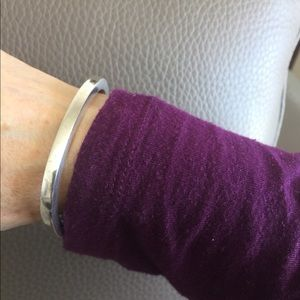 Jewelry - Heavy Vintage Sterling Silver Cuff